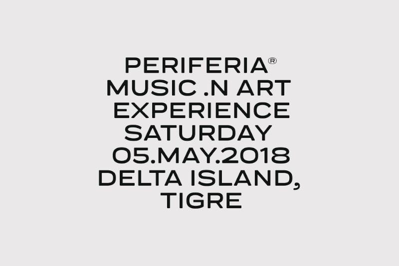 Festival Periferia é mais do que um evento, é uma experiência de arte e música que acontece em uma pequena ilha no Delta Tigre, na periferia de Buenos Aires. A identidade visual do evento foi feita pelo pessoal da Amateur (dot) rocks e reflete bem a estética e a sonoridade dos novos artistas da Argentina.