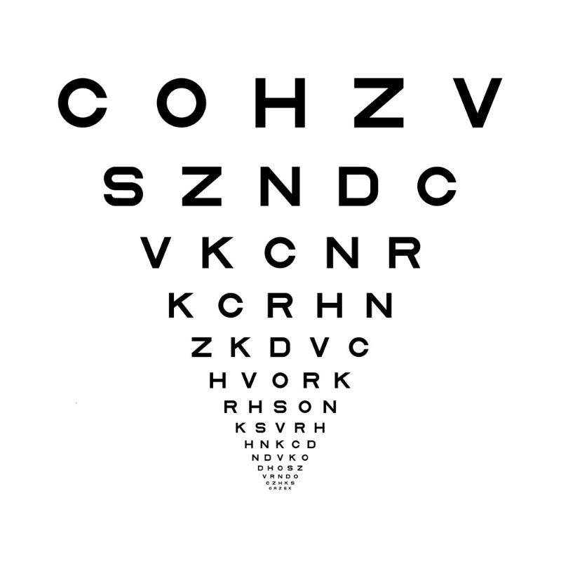 Optician Sans é uma fonte gratuita baseada nos gráficos e optótipos históricos usados pelos oculistas em todo o mundo. Criação colaborativa de ANTI Hamar e do tipógrafo Fábio Duarte Martins.