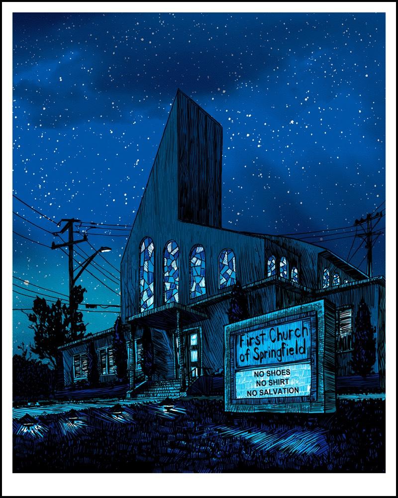 Tim Doyle trabalha fazendo impressões e ilustrando o mundo, tudo isso direto de Austin, no estado americano do Texas. Conheci seu trabalho quando me deparei com alguns posters alternativos para o cinema que ele anda fazendo, como o de Blade Runner que você pode ver logo abaixo.