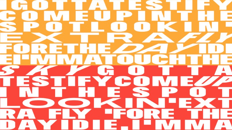 Soulcraft Typeface é uma fonte desenvolvida pelo pessoal do Massimo Studio, lá de Curitiba. Essa fonte OpenType variável foi criada com a intenção de preservar e emular a tipografia vernacular, aquela tipografia local que vemos pelas paredes das cidades mas que não existem no mundo digital.