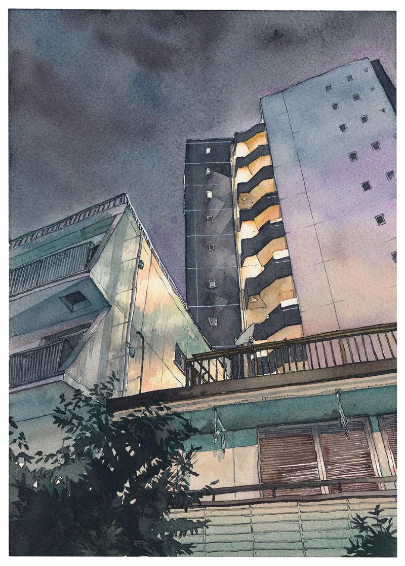 Entre agosto de 2017 e setembro de 2018, o ilustrador Mateusz Urbanowicz criou uma série de dez aquarelas que retratam uma visão noturna de Tóquio, a maior cidade do Japão. Mas as imagens que você vai ver aqui são um pouco diferentes daquela estética óbvia que vemos sempre que alguém resolve explorar uma cidade como Tóquio.