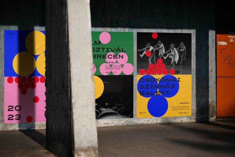 Todos os anos, uma cidade européia é escolhida como o centro cultural do continente. Em 2023, uma cidade na Hungria foi a escolhida e por isso mesmo que o trabalho de identidade visual aqui foi feito para Debrecen 2023.