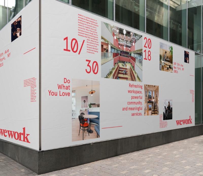 FrameWork é o nome do design system que foi criado pelo pessoal da Gretel. Tudo isso foi desenvolvido com a ideia de facilitar o trabalho dos designers da WeWork pelo mundo e para criar uma estética mais homogênea e que refletisse os valores da empresa.