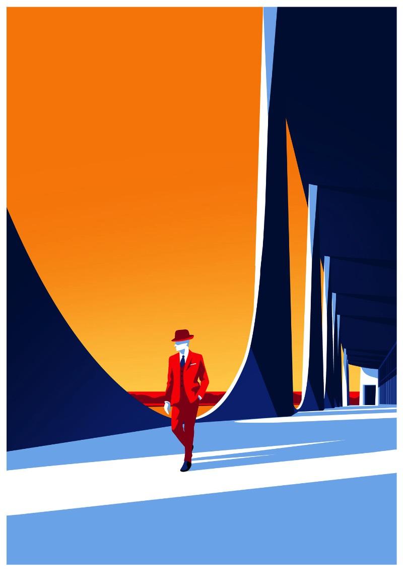 Entre os fãs da arquitetura de Oscar Niemeyer está o ilustrador húngaro Levente Szabo que resolveu dedicar uma série de ilustrações ao arquiteto. Essas ilustrações exploram as possibilidades estéticas que o concreto reforçado apresenta e o quão influente esse material foi nas construções do final do século passado.
