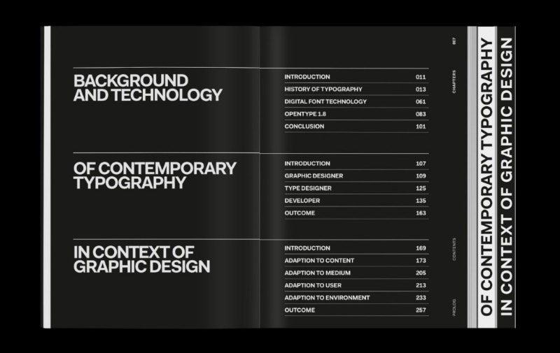 Vivemos em uma época de constante progresso e digitalização. As novas mídias estão mudando as formas com as quais nos comunicamos e designers estão no centro desse processo. Foi pensando nisso que Lisa Reckeweg resolveu apresentar como a tipografia contemporânea e a tecnologia existem no contexto do design gráfico.