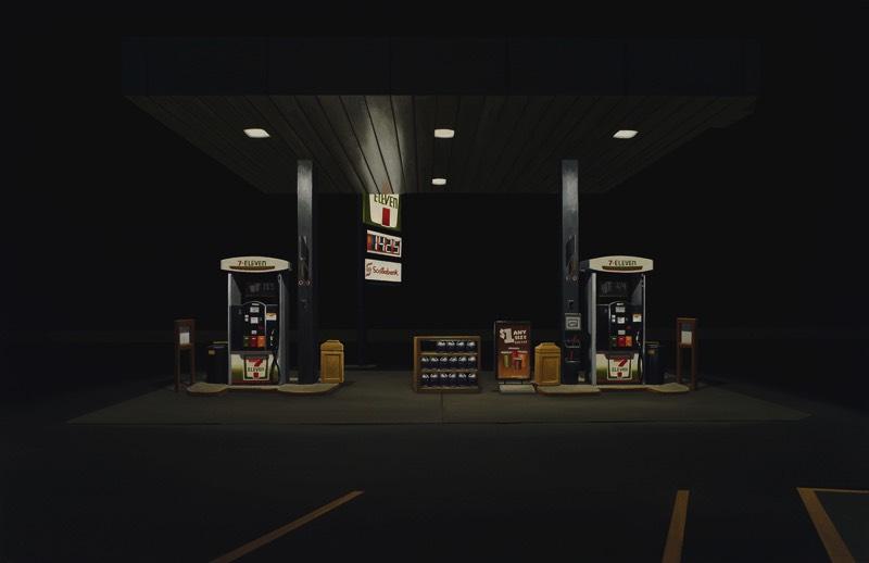 Peter Harris é um artista canadense baseado em Toronto cujo trabalho explora temas que envolvem a paisagem urbana que vemos no nosso dia a dia. E tudo isso em pinturas a óleo. Nos últimos 25 anos, a obsessão dos artista pelas cidades e pela vida urbana tem sido um objeto constante na sua vida e no seu trabalho. E você consegue ver isso muito bem nas imagens que eu selecionei de seu portfólio.
