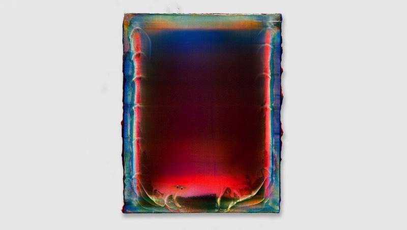 Quando me deparei com as pinturas de Ryan Crotty, fiquei imaginando como que ele conseguia colocar uma fonte de luz por trás da tela. Depois, fiquei pensando se suas telas eram transparentes e ele usava dessa luz para criar gradientes. Mas eu percebi que estava errado e o artista tem uma forma única de pintar.