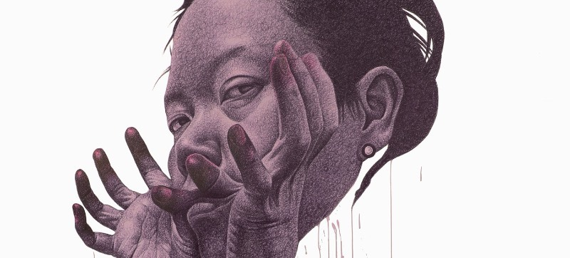A arte de Seungyea Park é, ao mesmo tempo, perturbadora e tentadora. Algumas vezes, os rostos que estão no seus desenhos parecem querer entrar em contato com você. Os desenhos olham direto para você e parecem permitir uma visão direta em suas almas amedrontadas. Eles olham para nós com olhos abertos e fazem caretas e criam uma sensação de desconforto em todos os momentos. Nos seus desenhos, Seungyea Park tenta unir seus monstros internos com aqueles que vivem do lado de fora.