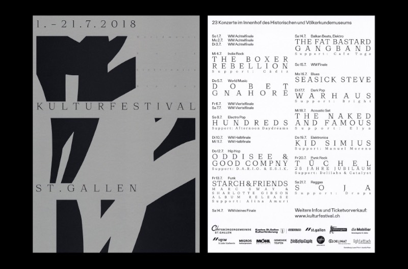Depois de fundar seu próprio estúdio de design gráfico na sua cidade natal de St Gallen, Laura Prim tem criado posters, identidades visuais para exposições, festivais e eventos além de design para livros e outros materiais gráficos. A maioria do seu trabalho é voltado para o setor cultural, principalmente para instituições de arte, galerias e museus.