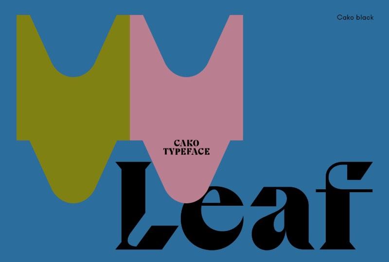 A Cako é uma família tipográfica que foi projetada por Jeremy Schneider em meados de 2019, direto de Paris. O que me chamou a atenção nessa fonte foi a forma quase única com a qual o designer trabalhou as formas e serifas de suas letras. Repletas de alternativas de estilos diversos e que, mesmo assim, continuam fazendo parte do conceito inicial dessa fonte.