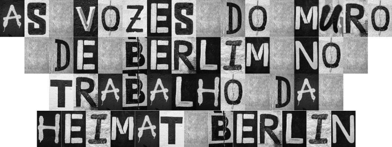 """Para comemorar os 30 anos da queda do muro de Berlim, os designers da agência alemã <a href=""""https://www.heimat-berlin.com/"""" rel=""""noopener"""" target=""""_blank"""">Heimat Berlin</a> resolveram usar do graffiti e das pixações do muro para criar algo novo. Dessa forma, eles usaram pedaços de textos para criar uma fonte nova e com um visual bem peculiar que pode ser usado nas suas redes sociais."""