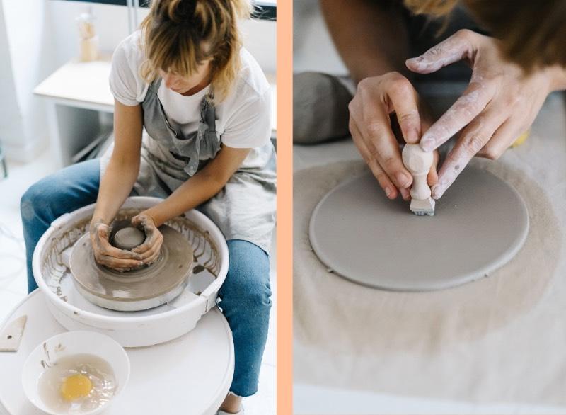 Dessa forma, Cuit Espai Ceramic é mais do que uma escola de cerâmica. É um local de encontro para experimentação e para o desenvolvimento de criatividade através das diferentes técnicas de cerâmicas. E esse foi um dos elementos que acabou aparecendo na identidade visual da empresa já que o logo foi feito para representar uma tigela estilizada, uma das peças mais simples e icônicas do mundo da cerâmica.