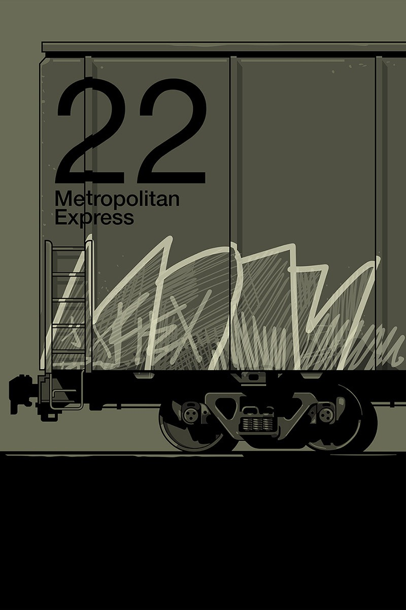 Com composições simples e com uma beleza impactante, você pode explorar o portfólio de ilustração e posters do designer Gianmarco Magnani sem olhar para o relógio. Suas ilustrações de linhas simples e complexas estruturas são feitas de cores limitadas e de uma tipografia interessante, como você pode ver nas imagens que eu selecionei logo abaixo.