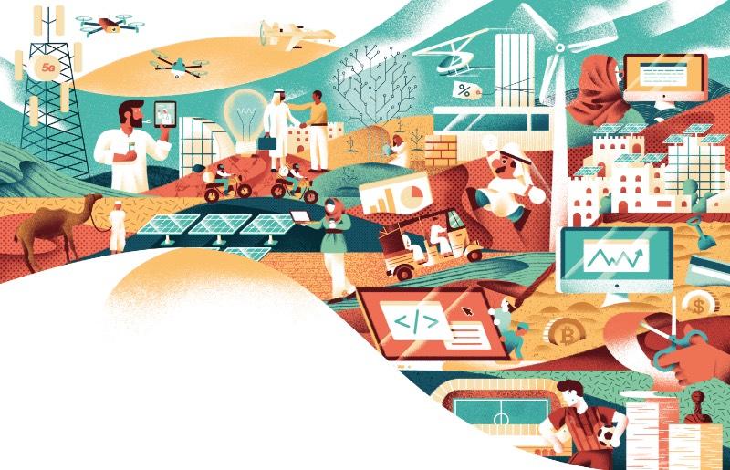 Daniele Simonelli é um ilustrador freelancer italiano com anos de experiência criando imagens para o mercado editorial e de publicidade. Atualmente, ele trabalha direto de Roma e seu portfólio tem um estilo visual bem interessante que fez com que eu resolvesse publicar sobre suas ilustrações por aqui.