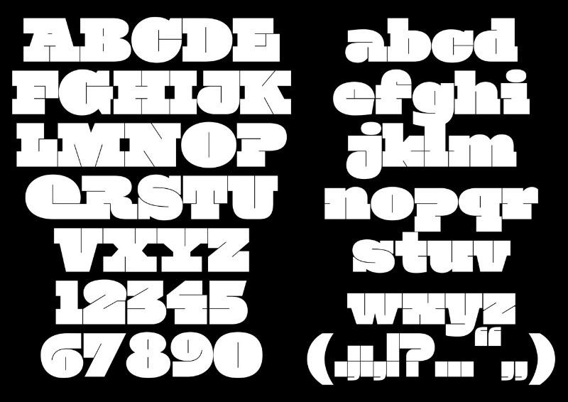 Cécile Legnaghi é uma designer gráfica baseada em Paris com um trabalho bem interessante de tipografia que inclui ai alguns projetos feitos durante seus anos estudando na École Estienne. A tipografia que ela apresenta eu seu portfólio tem um aspecto quase experimental e utiliza de um contraste bem forte entre as linhas, o que deixou tudo com uma estética bem única.