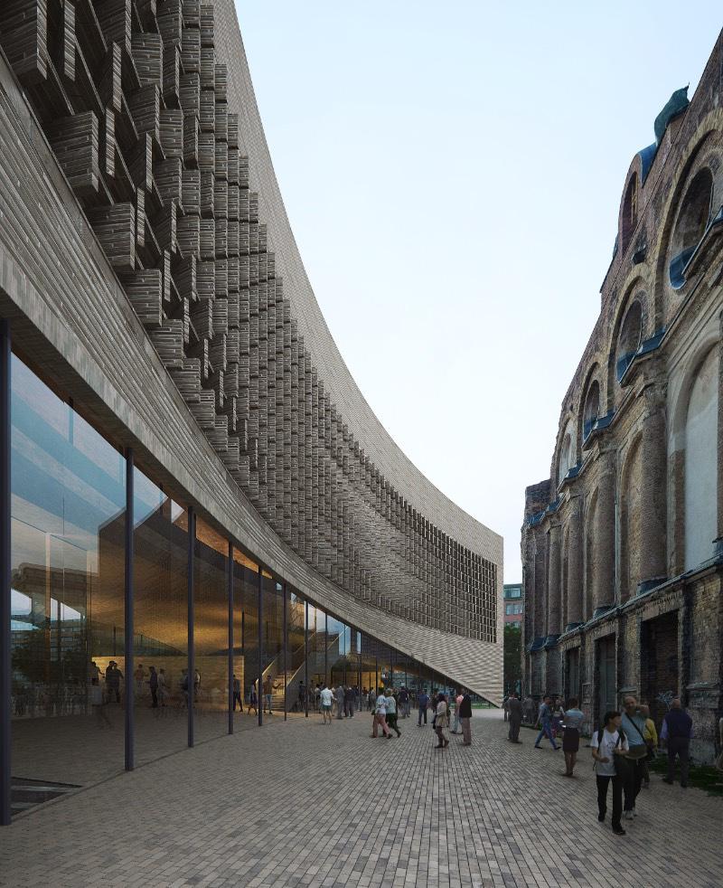 O Exilmuseum é o mais novo projeto arquitetônico que vai ser construído na capital da Alemanha. O resultado de uma competição internacional de design saiu em meados de Agosto de 2020 e o pessoal da Dorte Mandrup saiu vitoriosa com um trabalho bem interessante.