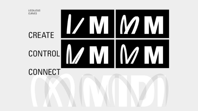 MIDI é uma dessas palavras que são muito claras para quem é trabalha com áudio e música. Mas que são meio que alienígenas para quem é de outra área. Parece que esse é um dos problemas que o pessoal da Pentagram quis solucionar com a nova identidade visual que foi desenvolvida para a MIDI Association.