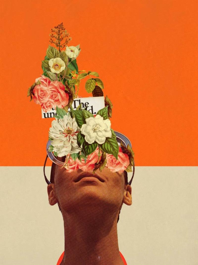 Frank Moth cria imagens nostálgicas que me remetem a um futuro distante. Um futuro que, em simultâneo, me parece familiar e inalcançável. E ele faz isso através de colagens e composições digitais que são apresentadas com uma palheta de cores bem distinta, de forma com que seu trabalho seja facilmente reconhecível.