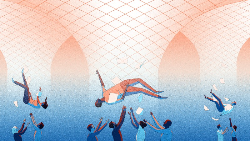 Baseada em Antuérpia, Jenna Arts é uma ilustradora freelancer com um belíssimo trabalho editorial que precisa ser visto por mais pessoas. Seu portfólio inclui imagens criadas para projetos pessoais e para clientes, como Wired, De Morgen, VPRO Guide, VARAGids, Follow The Money, entre outros.