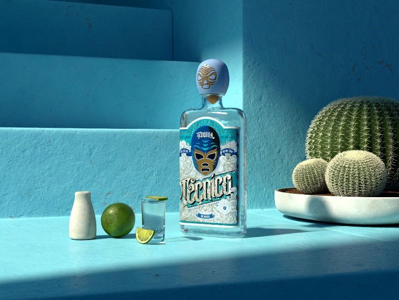 As embalagens das Tequilas Técnico e Rudo tem seu design inspirado nas lucha libre, aquela forma bem particular de luta livre que existe no México. O design dessas embalagens ficou nas mãos do design Anton Burmistrov e, nesse trabalho, dá para ver como ele usou do seu amor pela cultura do México para criar algo visualmente especial.