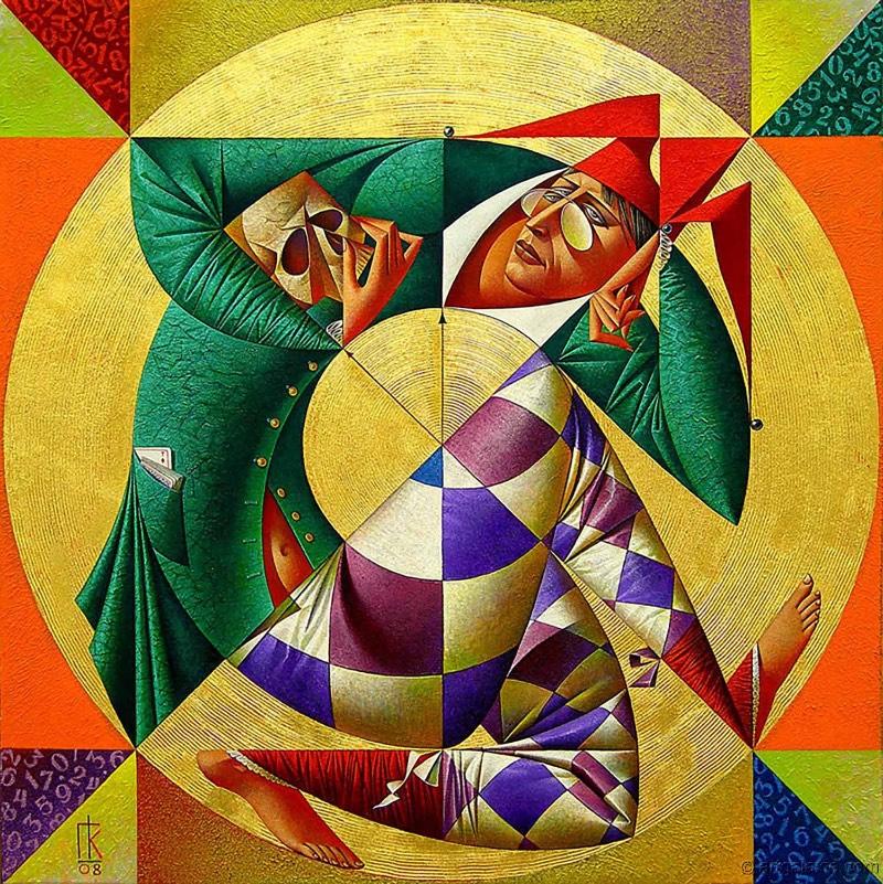 O pintor russo Georgy Kurasov é um desses artistas que apresentam uma notável individualidade em seu estilo de pintura. Depois que você é apresentado a suas obras, é fácil reconhecer novas pinturas. Esse reconhecimento imediato é algo interessante de se observar considerando que não consigo pensar em muitos artistas contemporâneos onde isso seja evidente.
